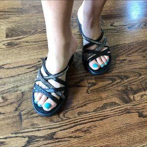 882685b5533f1 Skechers Shoes - Skechers Rumblers Wave New Lassie Slide sandal